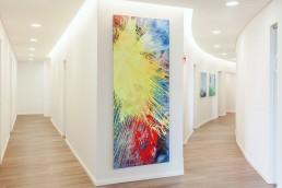 Bailer Kunst - Abstrakte Malerei - expressiv - Beispiel 1