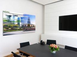 Kunstberatung im Besprechungszimmer