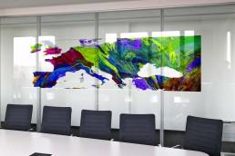 Bailer Kunst - Kunst für Glaswände - Beispiel 1