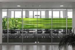 Bailer Kunst - Kunst für Glaswände - Beispiel 3