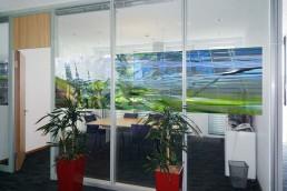 Bailer Kunst - Kunst für Glaswände - Beispiel 4
