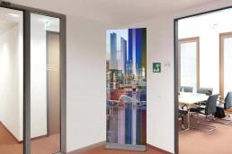 Bailer Kunst - Kunst für Glaswände - Beispiel 6