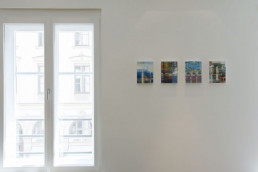 vier kleine Fotokunstwerke