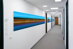 beschleunigte Kunst im Büro