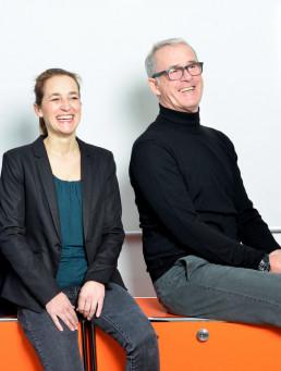Martina König und Donat Bailer
